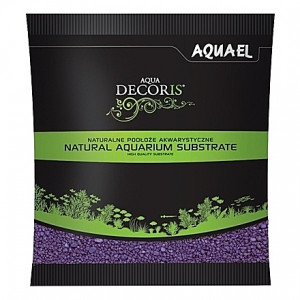 Gravier violet AQUAEL AQUA DECORIS - 2 à 3mm - 1Kg