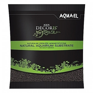 Gravier noir AQUAEL AQUA DECORIS - 2 à 3mm - 1Kg