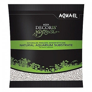 Gravier blanc AQUAEL AQUA DECORIS - 2 à 3mm - 1Kg
