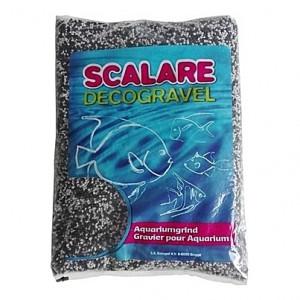 Gravier noir et blanc SCALARE DECOGRAVEL (Bergamo) - 2 à 3mm - 4Kg