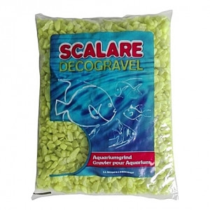 Gravier jaune SCALARE DECOGRAVEL (Rimini) - 6 à 9mm - 1Kg