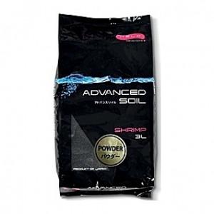 Sol biotope crevettes AQUAEL ADVANCED SOIL SHRIMP POWDER - 3L
