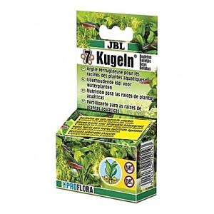 7 Boulettes d'engrais racines JBL KUGELN à base d'argile ferrugineuse