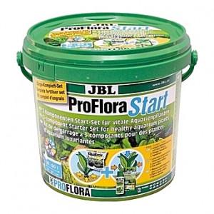 Mélange de substrats nutritifs JBL ProFlora Start Set 100 à 3 composants