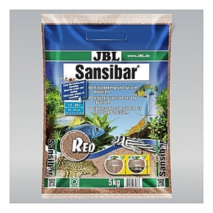 Sable marron rougeâtre JBL Sansibar Red - 5Kg