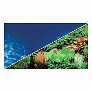 Poster HOBBY Plantes 8 / Marin Blue 120x50cm