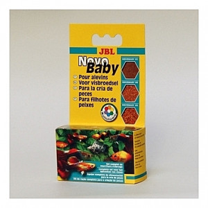 Nourriture variée pour alevins JBL Novo Baby - 3x10ml