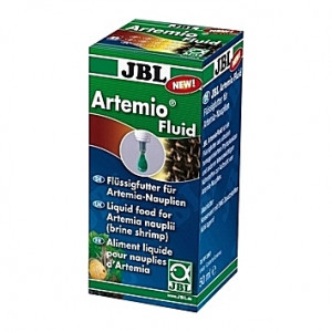 Aliment liquide pour nauplies d'artémia JBL Artemio Fluid - 50ml