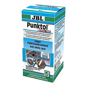 Traitement contre la maladie des points blancs et autres ectoparasites JBL Punktol Plus 1500 - 50ml