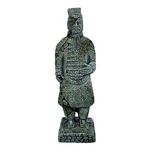 Statue combattant chinois - 5,5x5,5x17cm
