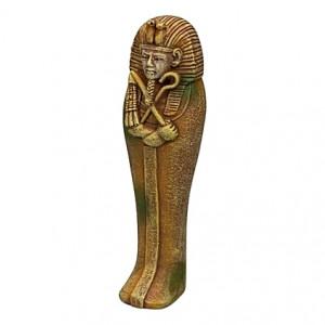 Figurine égyptienne Echnaton - 4x3,5x12,5cm