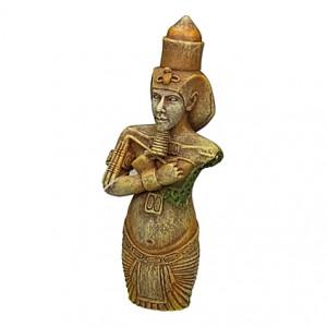 Figurine égyptienne Sethos - 5x3,5x12,5cm