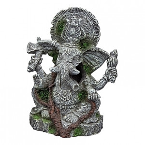 Figurine éléphant Ganesha - 10x8x12,5cm
