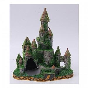 Château avec mousses - 20x12x22,5cm