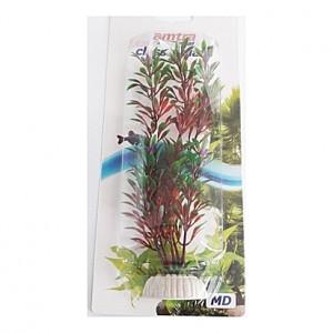 Plante artificielle verte et rouge 18cm