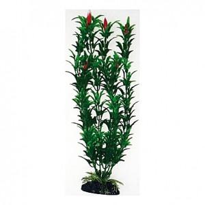 Plante artificielle Egeria fleur rouge 27cm