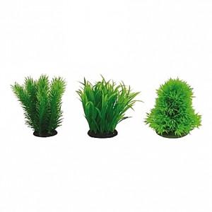 Lot de 6 plantes japanaises artificielles 8cm