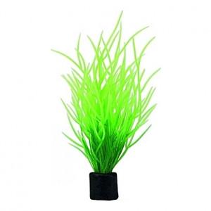 Lot de 5 plantes artificielles Lilaeopsis Mini 1,5x1,5x7cm