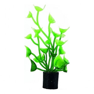 Lot de 5 plantes artificielles Cardamine Mini 1,5x1,5x5cm