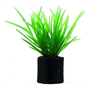 Lot de 5 plantes artificielles Eleocharis Mini 1,5x1,5x3cm