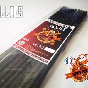 Lollies Spiruline paprika shrimpsfood pour crevettes aquarium