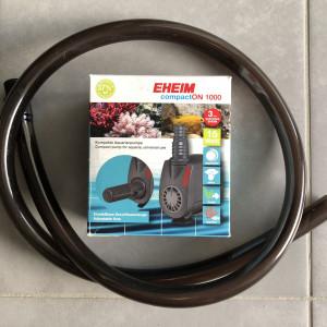 Pompe à eau Eheim CompactON 100 Débit de 400 à 1000l/h avec tuyau