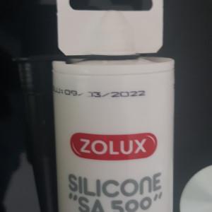 Colle silicone (spéciale aquarium)