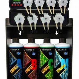 Pompes de distribution Grotech Tech4 NG 8 canaux avec armoire