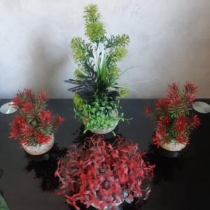 Lot plantes artificielles