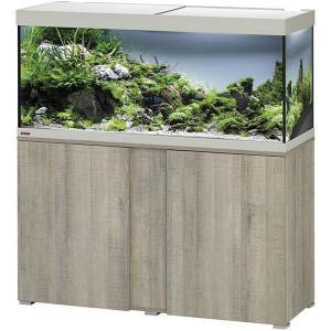 Aquarium EHEIM Vivaline + Meuble (Chêne gris) - 240l