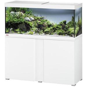 Aquarium EHEIM Vivaline + Meuble (Blanc) - 240l