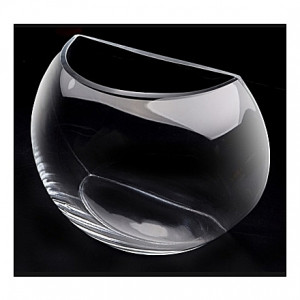 Demi lune en verre - 7L