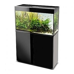 Aquarium AQUAEL Glossy 80 (Noir) - 125L