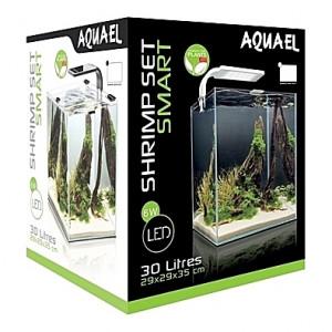 Aquarium AQUAEL SHRIMPSET (Blanc) - 30L
