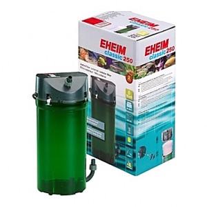 Filtre externe EHEIM CLASSIC 250 (aquarium <250L) 440 l/h + robinets