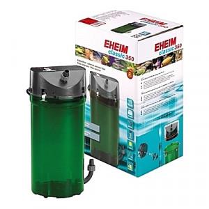Filtre externe EHEIM CLASSIC 350 (aquarium <350L) 620 l/h + robinets