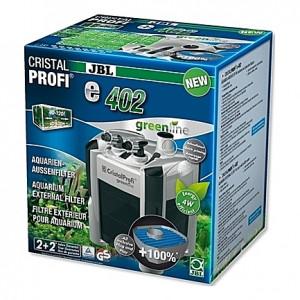 Filtre externe JBL CRISTAL PROFI e402 greenline (aquarium <120L) 450 l/h