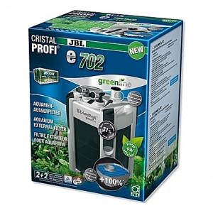 Filtre externe JBL CRISTAL PROFI e702 greenline (aquarium <200L) 700 l/h