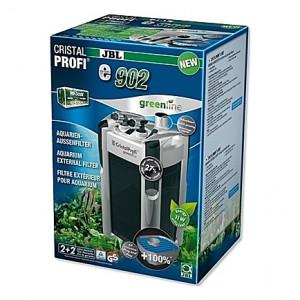 Filtre externe JBL CRISTAL PROFI e902 greenline (aquarium <300L) 900 l/h