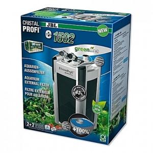 Filtre externe JBL CRISTAL PROFI e1502 greenline (aquarium <700L) 1400 l/h