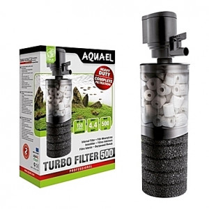 Filtre interne AQUAEL TURBO FILTER (aquarium <100L) 500 l/h