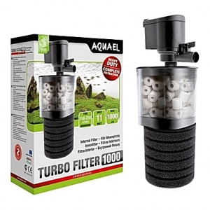 Filtre interne AQUAEL TURBO FILTER (aquarium <250L) 1000 l/h