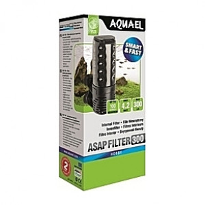 Filtre interne AQUAEL ASAP (aquarium <100L) 300l/h