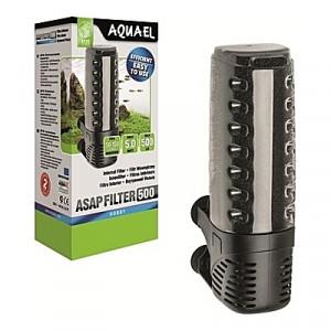 Filtre interne AQUAEL ASAP (aquarium <100L) 500l/h