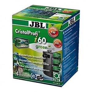 Filtre interne d'angle CristalProfi i60 greenline JBL (aquarium <60L) 150-420 l/h