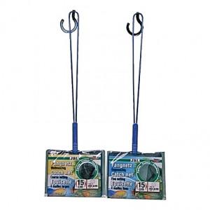 Epuisette Premium Larges mailles JBL 15 cm (manche de 40 cm)