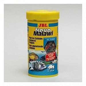 Flocons pour cichlidés alguivores JBL Novo Malawi 250ml