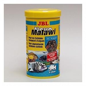 Flocons pour cichlidés alguivores JBL Novo Malawi 1L