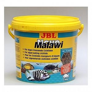 Flocons pour cichlidés alguivores JBL Novo Malawi 5,5L