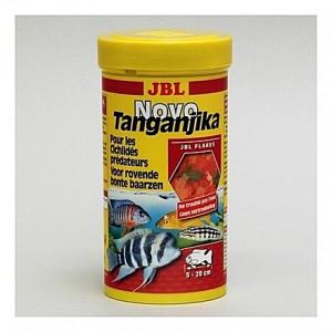 Flocons pour cichlidés prédateurs JBL Novo Tanganyika 250ml